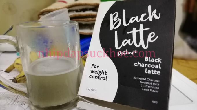 thức uống giảm cân black latte