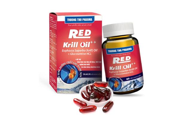 viên bổ khớp red krill oil giá bao nhiêu
