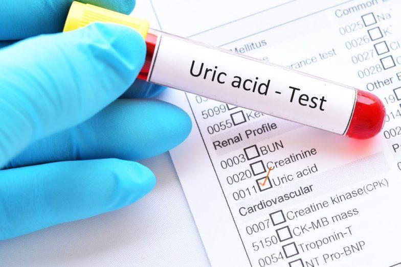 cách giảm axit uric trong máu