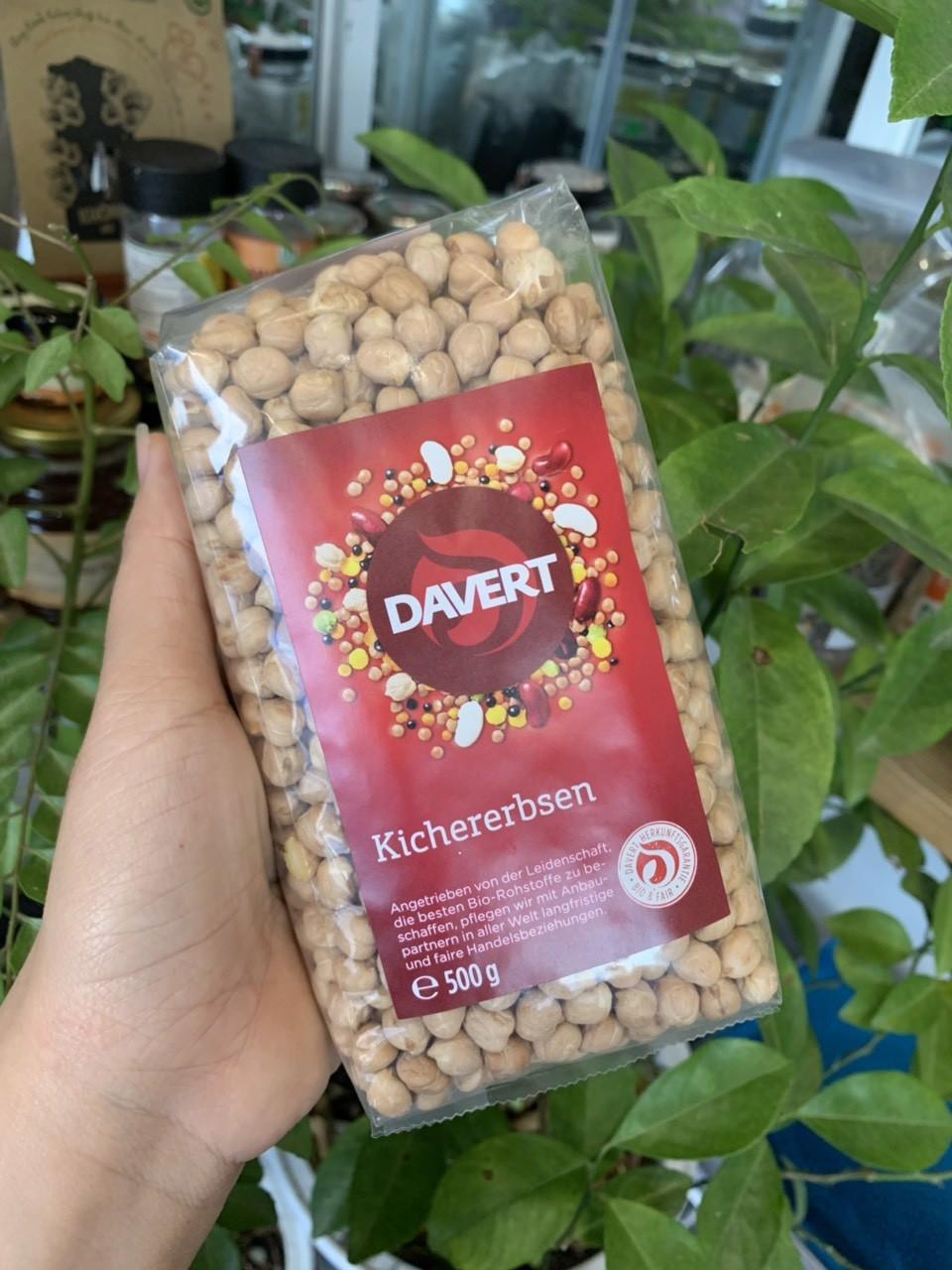 đậu gà hữu cơ davert