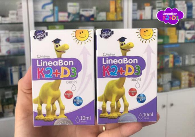 lineabon k2 + d3 có tốt không
