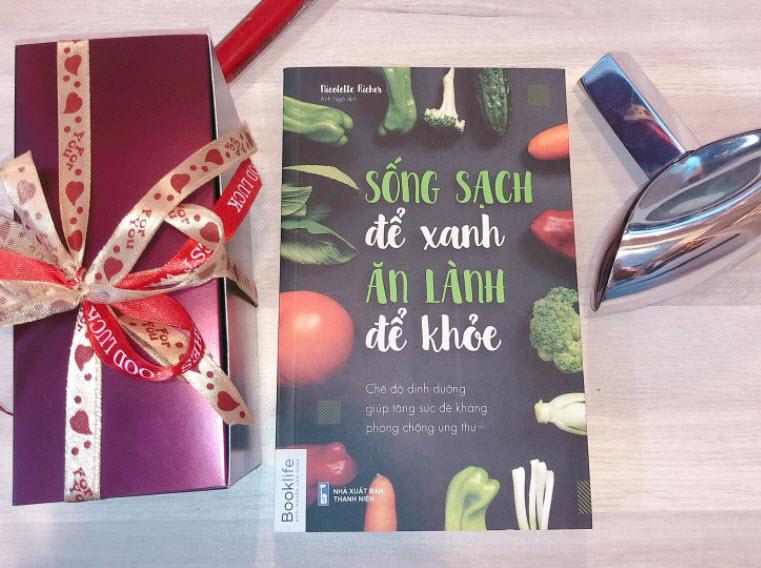 sách sống sạch để xanh ăn lành để khỏe