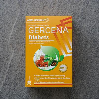 viên uống gercena diabets giá bao nhiêu